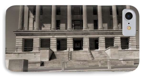 Tennessee Capitol Building Phone Case by Dan Sproul