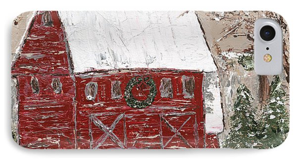 Tennessee Christmas IPhone Case by Kirsten Reed