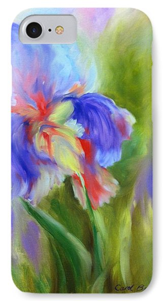 IPhone Case featuring the painting Tennessee Iris by Carol Berning