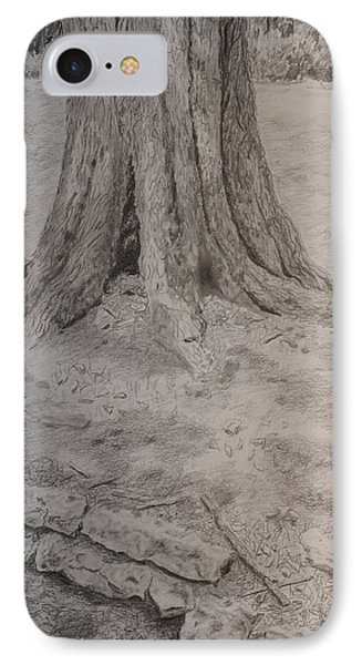 Tennessee Tree And Rock Wall IPhone Case by Arthur Witulski