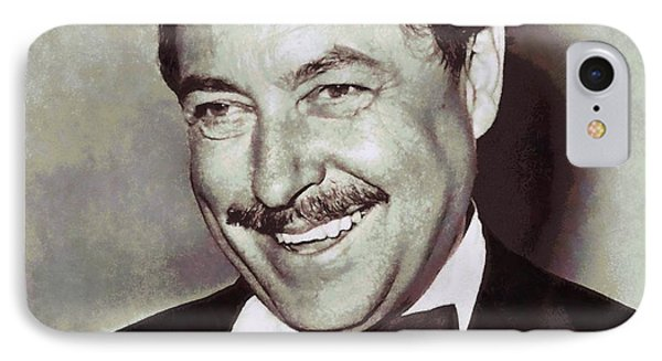 Tennessee Williams IPhone Case by Dan Sproul