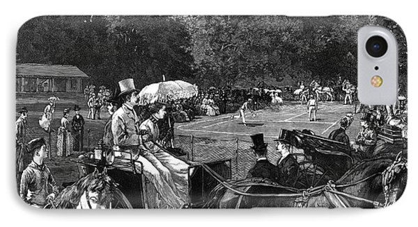 Tennis, 1886 IPhone Case by Granger