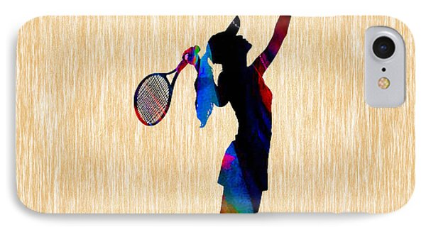 Tennis Game IPhone Case by Marvin Blaine