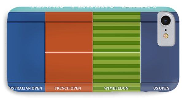 Tennis Player-s Dream IPhone 7 Case by Carlos Vieira