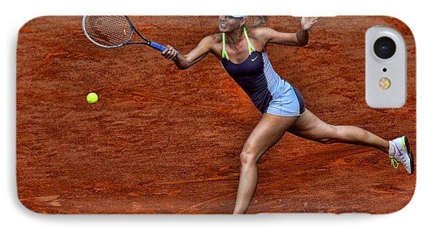 Tennis Star Maria Sharapova IPhone Case
