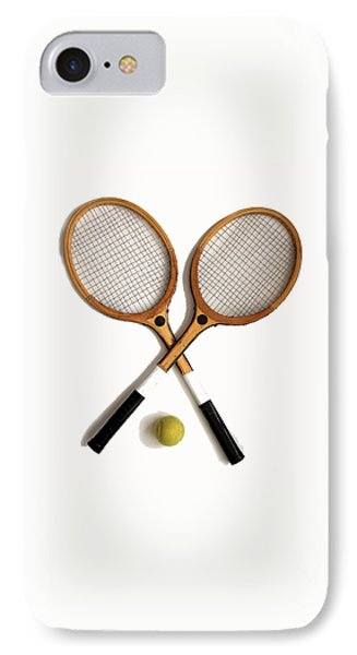 Tennis Sports IPhone Case by Tom Conway