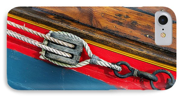 Tension On The Sailing Vessel IPhone Case