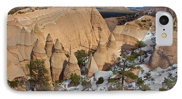 IPhone Case featuring the photograph Tent Rocks National Monument by Britt Runyon