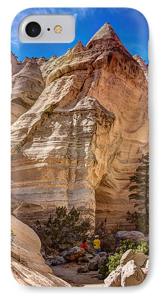 Tent Rocks No. 2 IPhone Case by Dave Garner