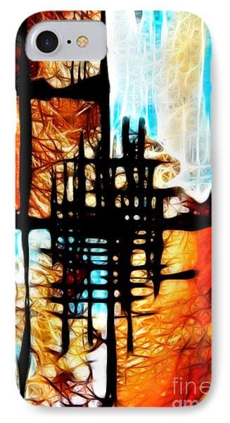 Tequila Sunrise Phone Case by Mariola Bitner