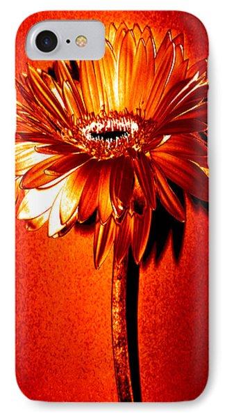 Tequila Sunrise Zinnia IPhone Case by Sherry Allen
