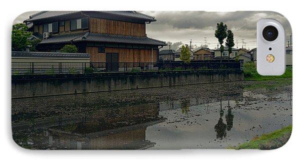 Terada Rice Paddy Estate - Japan IPhone Case by Daniel Hagerman