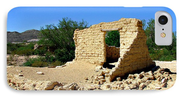 Terlingua Texas Ghost Town IPhone Case