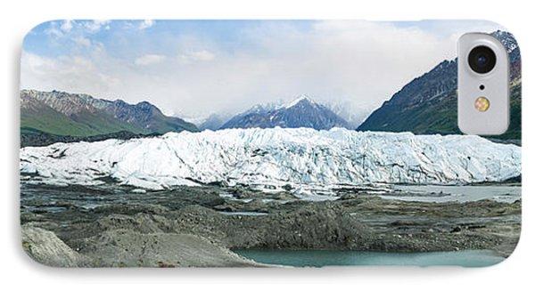 Terminus Of Matanuska Glacier IPhone Case by Panoramic Images