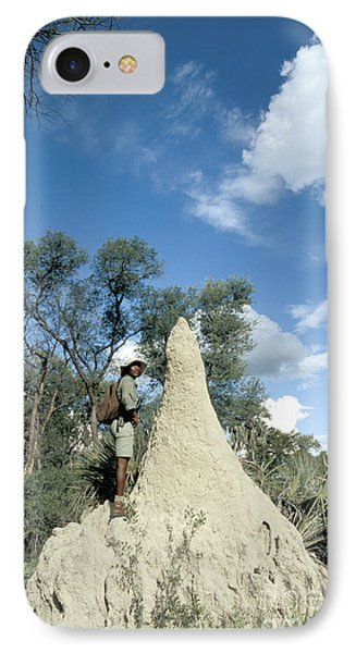 Termite Mound Phone Case by Mark Newman