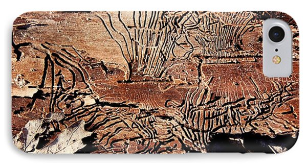 Termite Trails Phone Case by Kevin Grant