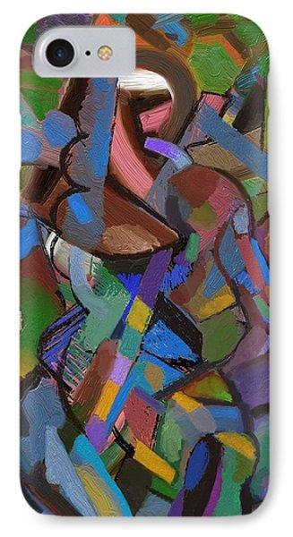 IPhone Case featuring the digital art Terra by Clyde Semler