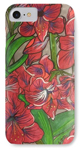 Terra Da Minha Mae Phone Case by Marcia Brownridge