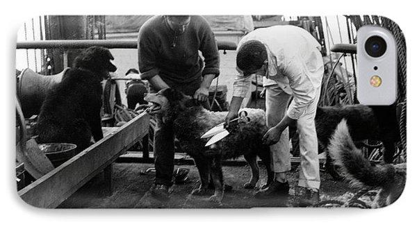 Terra Nova Antarctic Dogs IPhone Case by Scott Polar Research Institute