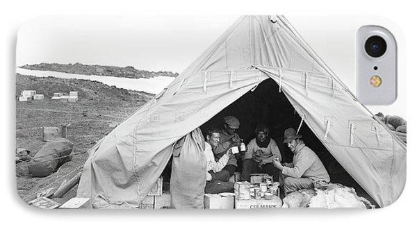 Terra Nova Camp In Antarctica IPhone Case