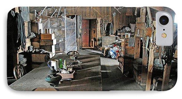Terra Nova Hut Interior IPhone Case by Nasa/michael Studinger