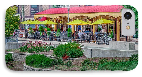 Terrace Dining On The Monon Trail IPhone Case