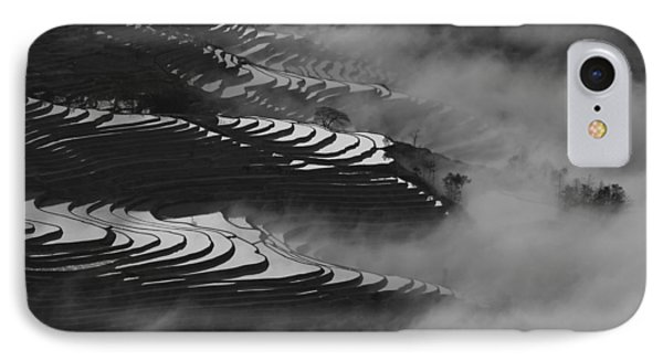 Terraced Rice Field IPhone Case by Jason KS Leung