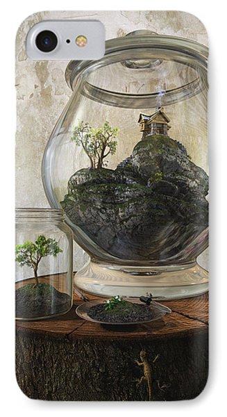 Terrarium IPhone Case by Cynthia Decker