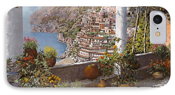 terrazza a Positano Phone Case by Guido Borelli