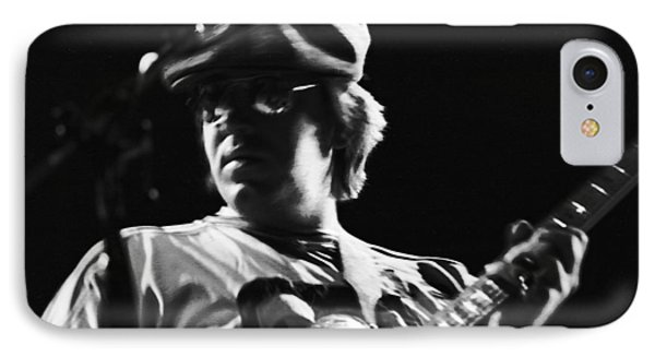 Terry Kath At The Cow Palace In 1976 IPhone Case by Ben Upham
