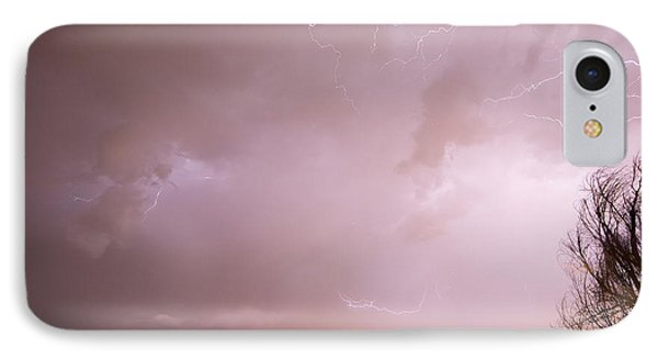 Terry Lake Lightning Thunderstorm Phone Case by James BO  Insogna