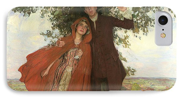 Tess Of The D'urbervilles Or The Elopement IPhone Case