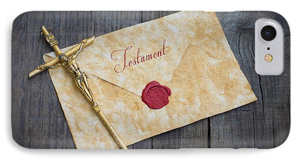 Testament IPhone Case