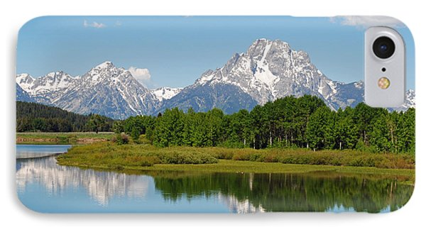 Teton Cloud Reflections IPhone Case