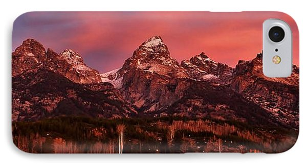 IPhone Case featuring the photograph Teton Color by Benjamin Yeager