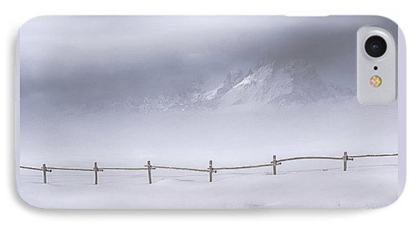 IPhone Case featuring the photograph Teton Morning by Priscilla Burgers