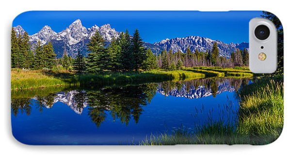 Teton Reflection IPhone Case by Chad Dutson