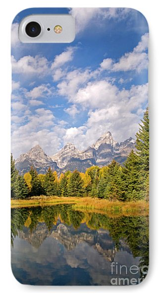 Teton Reflections Phone Case by Alex Cassels
