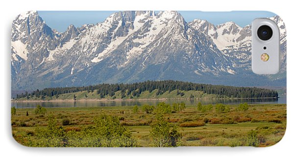 Teton Valley IPhone Case by Robert  Moss