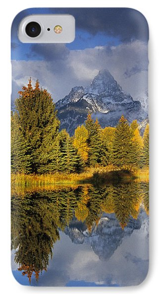 Tetons And Pond IPhone Case