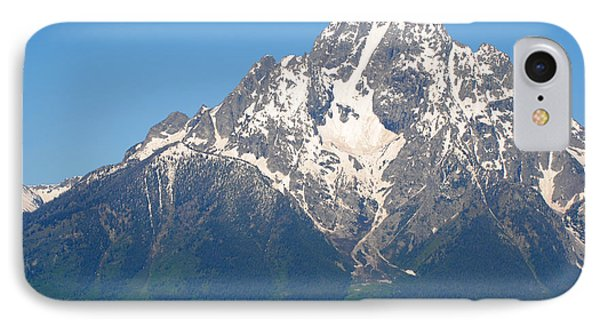 Tetons Sunrise IPhone Case by Robert  Moss