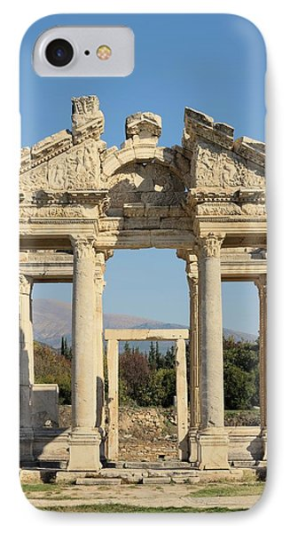 Tetrapylon At Aphrodisias IPhone Case by David Parker