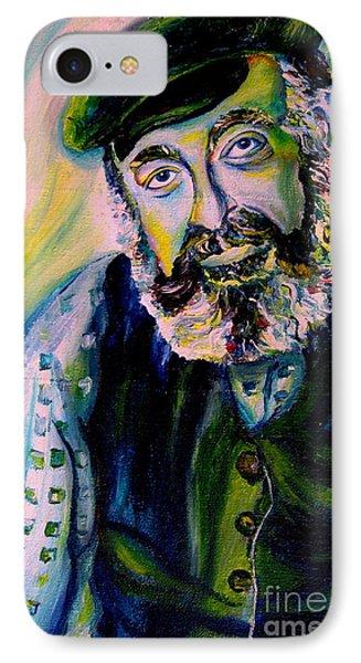 Tevye Fiddler On The Roof Phone Case by Carole Spandau