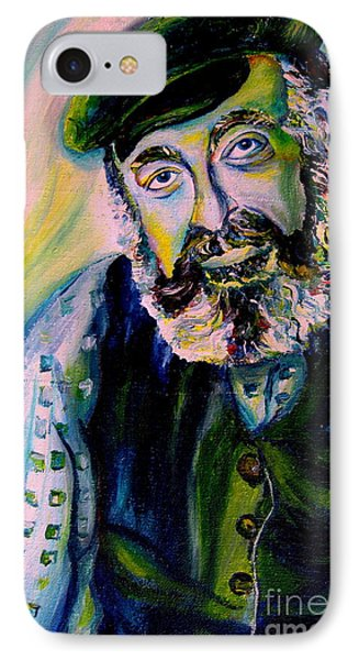 Tevye Fiddler On The Roof IPhone Case by Carole Spandau
