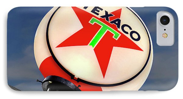 Texaco Star Globe Phone Case by Mike McGlothlen