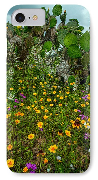 Texas Bouquet II IPhone Case