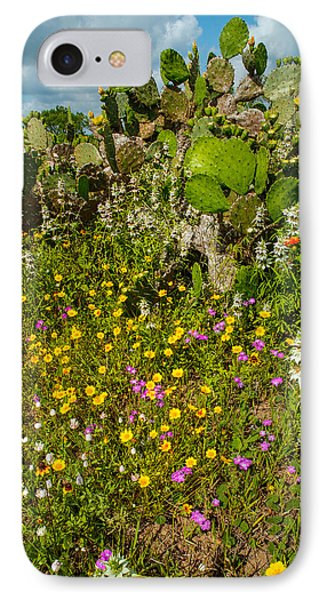Texas Bouquet IPhone Case