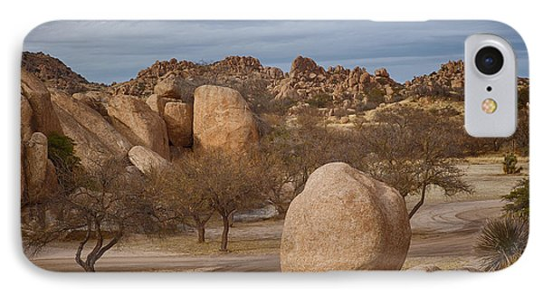 Texas Canyon In Arizona IPhone Case by Beverly Parks