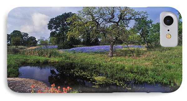 Texas Hill Country - Fs000056 Phone Case by Daniel Dempster
