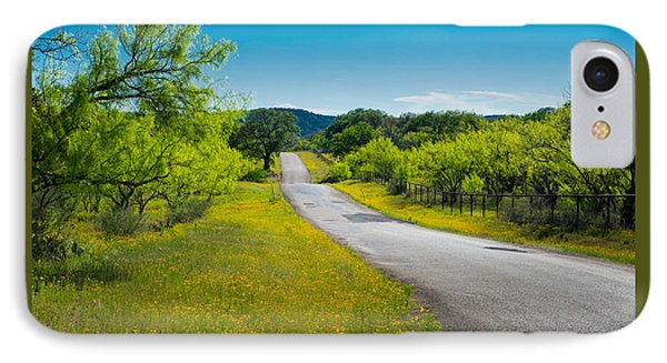 Texas Hill Country Road IPhone Case by Darryl Dalton